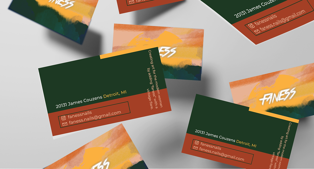 Faness Business Cards
