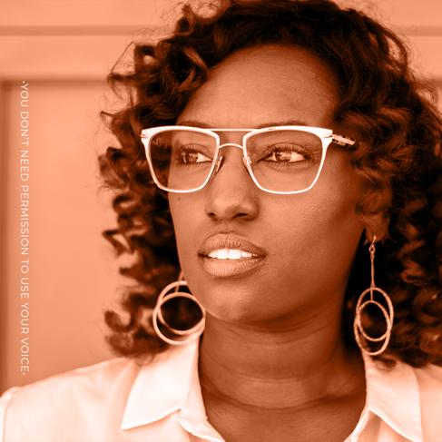 GRAPHIC TEMPLATE - SPEAK. BLACK GIRL