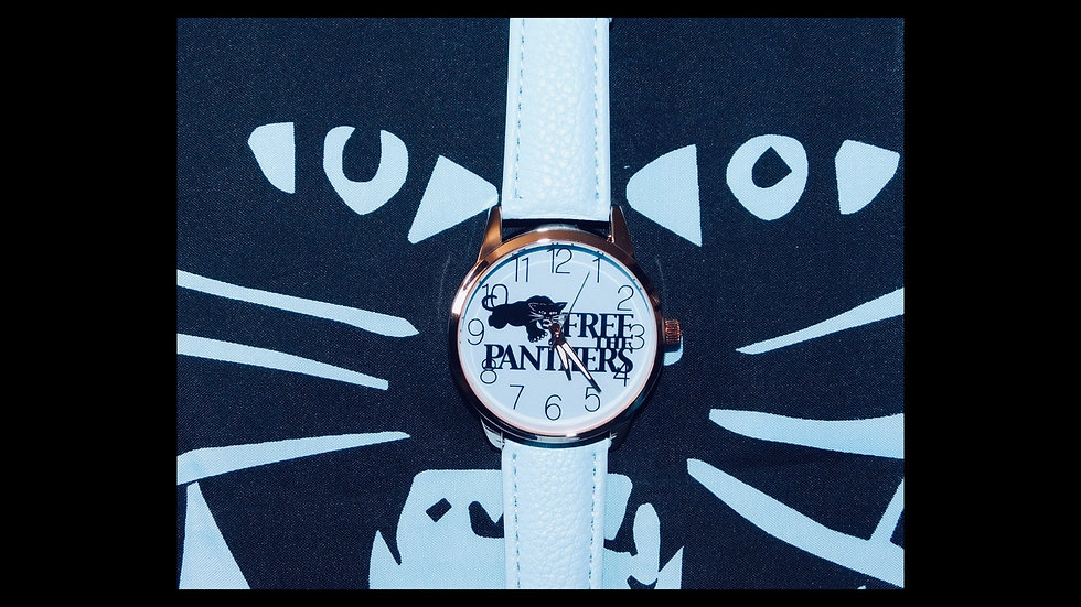 Blue Free The Panthers Timepiece