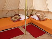 Intérieur petite tente