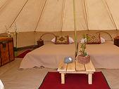 petite tente intérieur