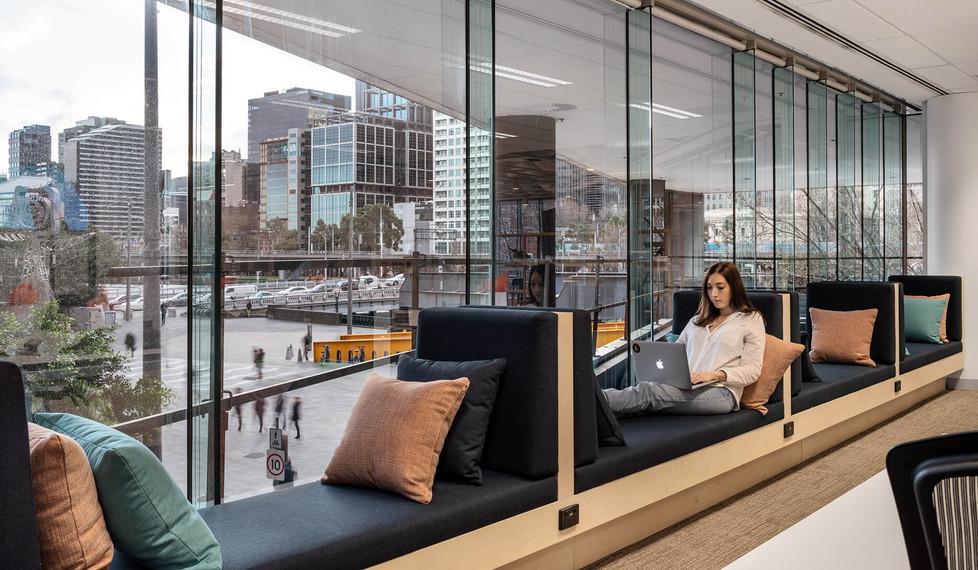 Eventbrite Melbourne - corporate office interior design