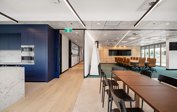 Southern Cross Austereo - Modern Workplace Design