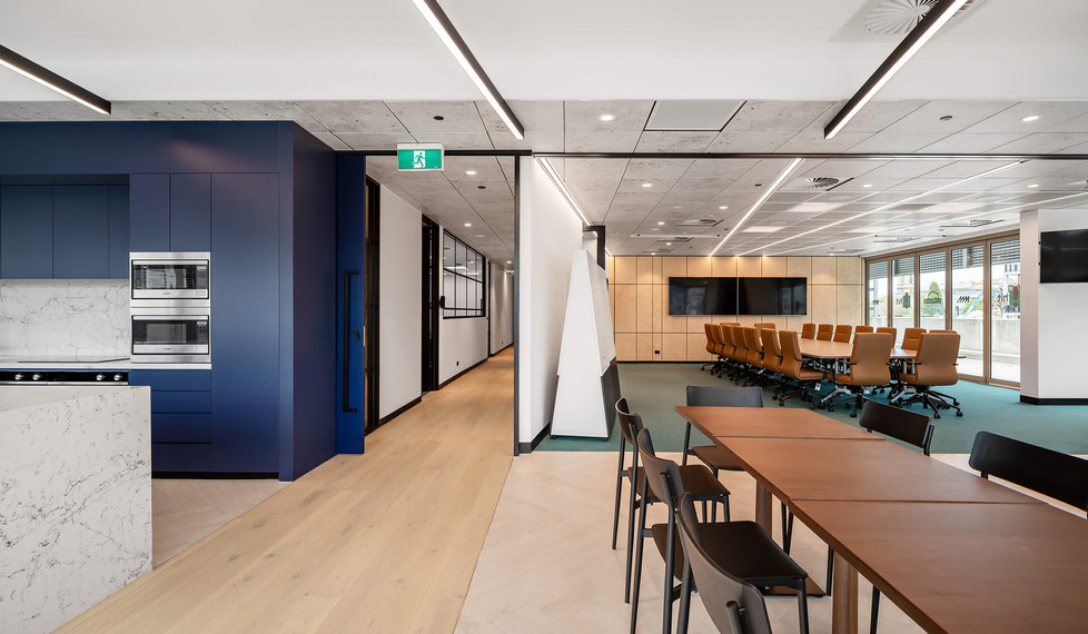 Southern Cross Austereo Melbourne - modern workplace design