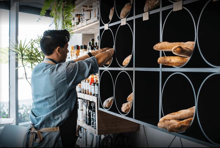 SOL Providore Store - coffee bar design
