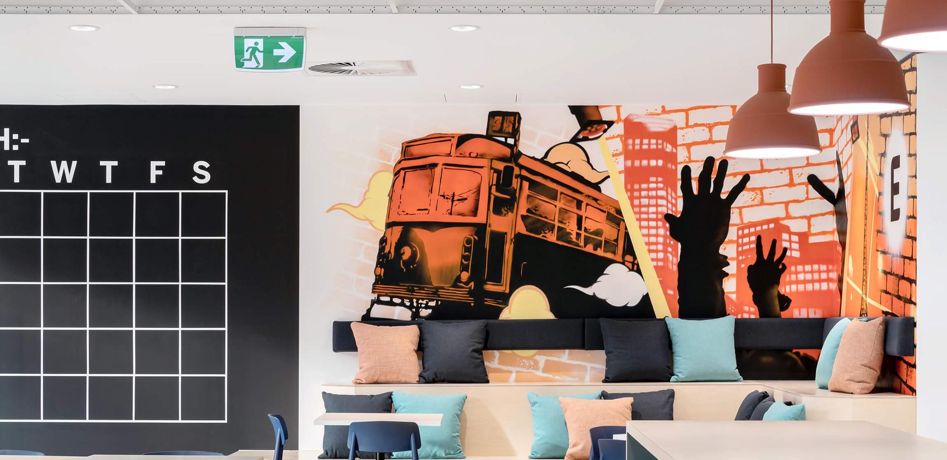 Eventbrite Melbourne - corporate design interiors