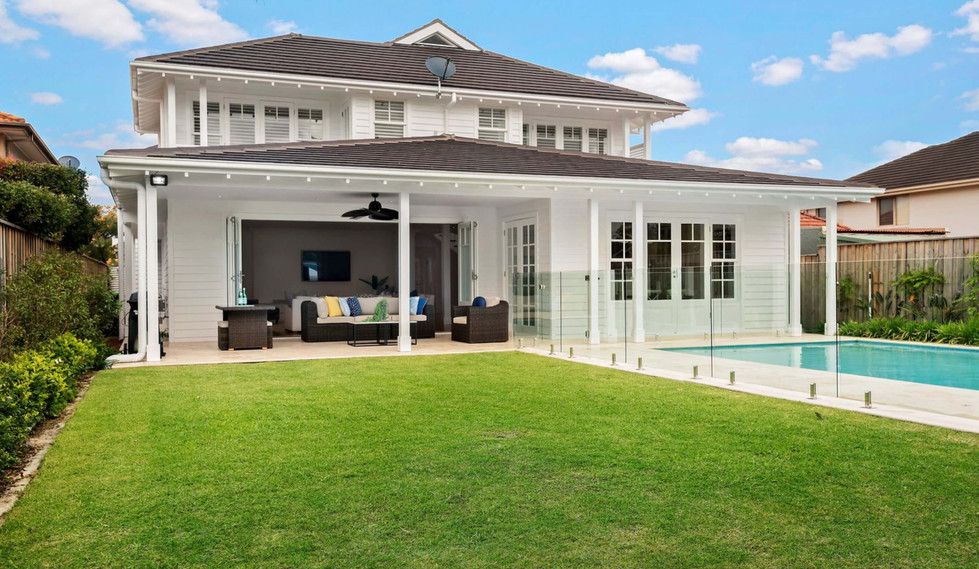 Seaforth Hamptons House - Residential exterior design