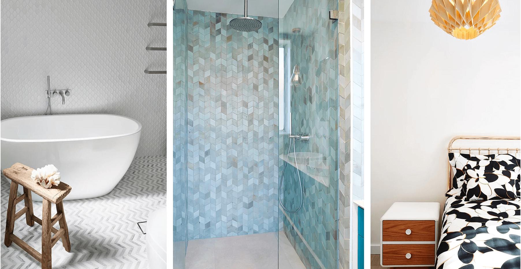 Bronte Seaside Apartment - Cradle residential apartment design - Bathroom features