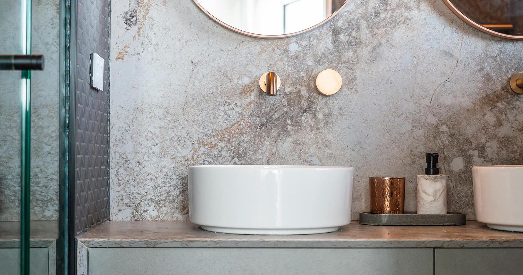 Bronte Seaside Apartment - Cradle residential apartment design - Bathroom