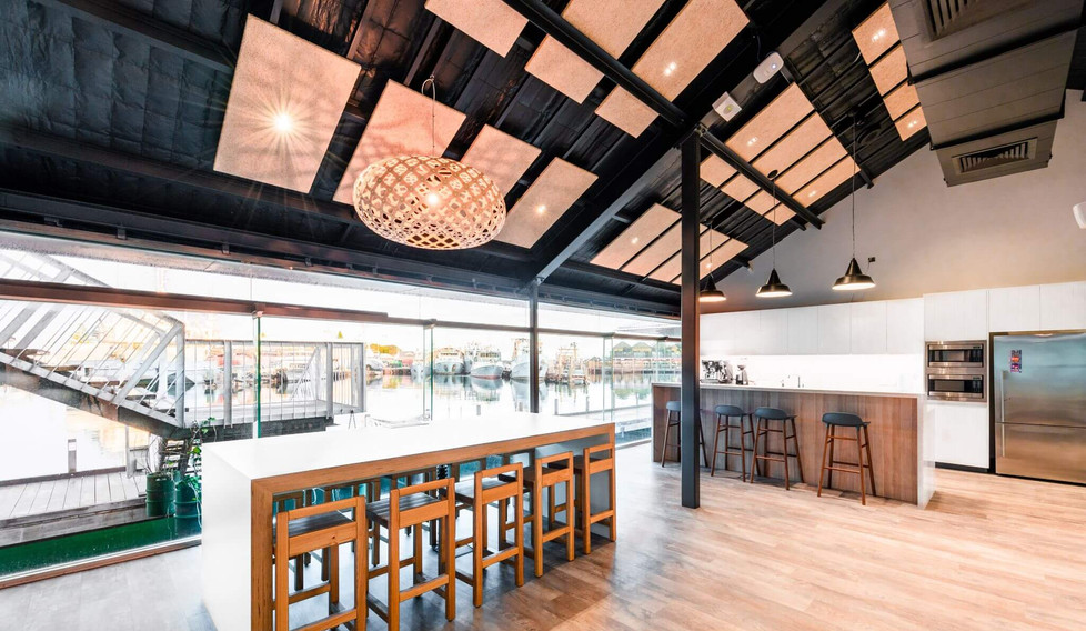 Lion and Little Creatures Fremantle - Modern workplace design
