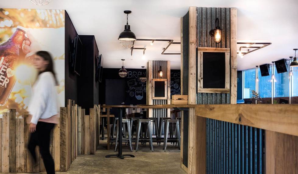 Four Pines Brewing Co SCG - Bar layout design