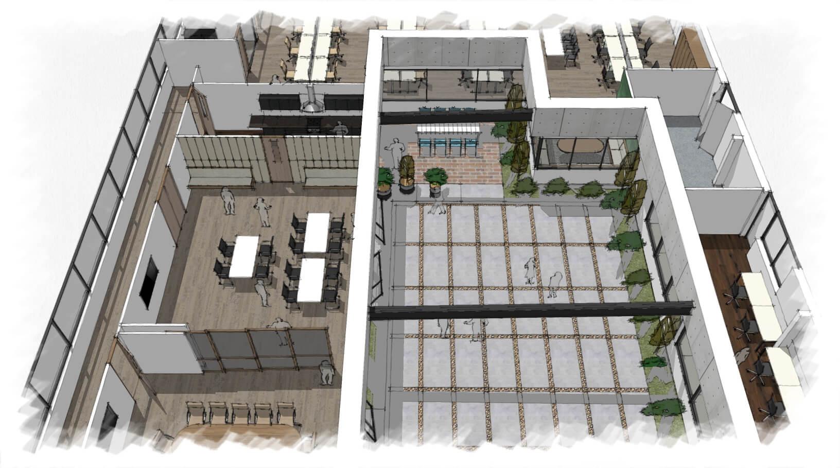 Sealy NSW Bedding Plant - Commercial floor plan designer