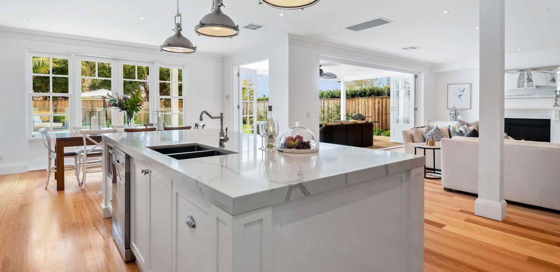 Seaforth Hamptons House - Residential kitchen design