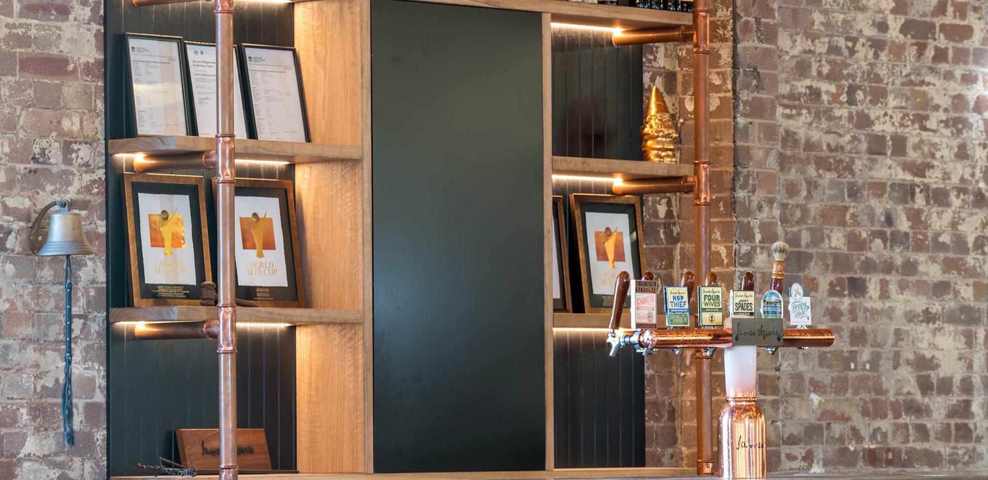 Lion Malt Shovel Bar - bar layout design ideas