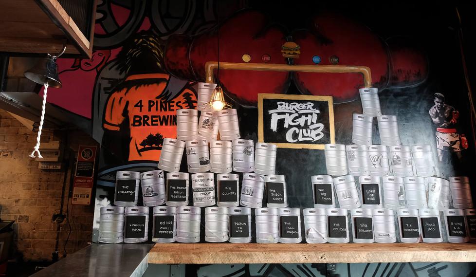 Four Pines Bar Surry Hills - bar layout design