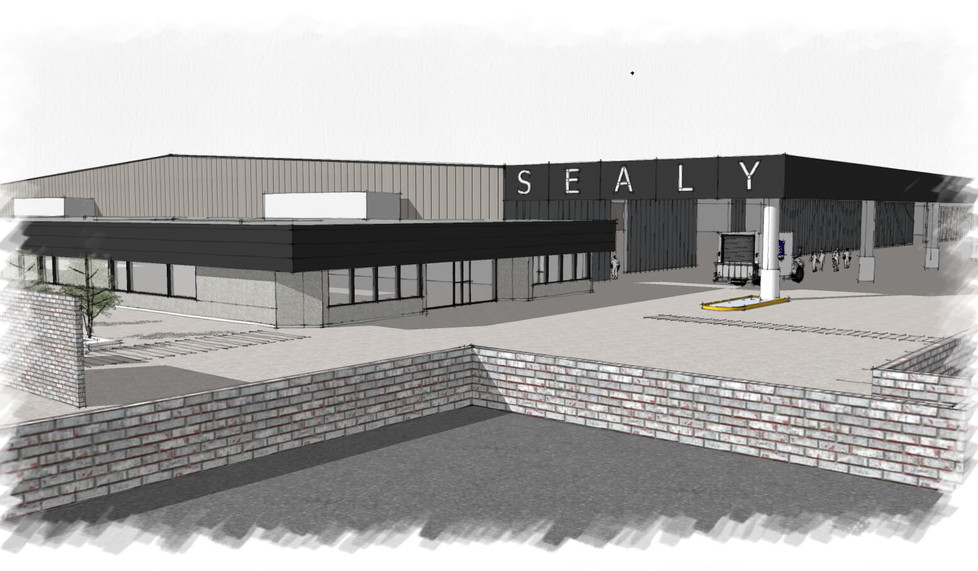 Sealy NSW Bedding Plant - commercial design solutions