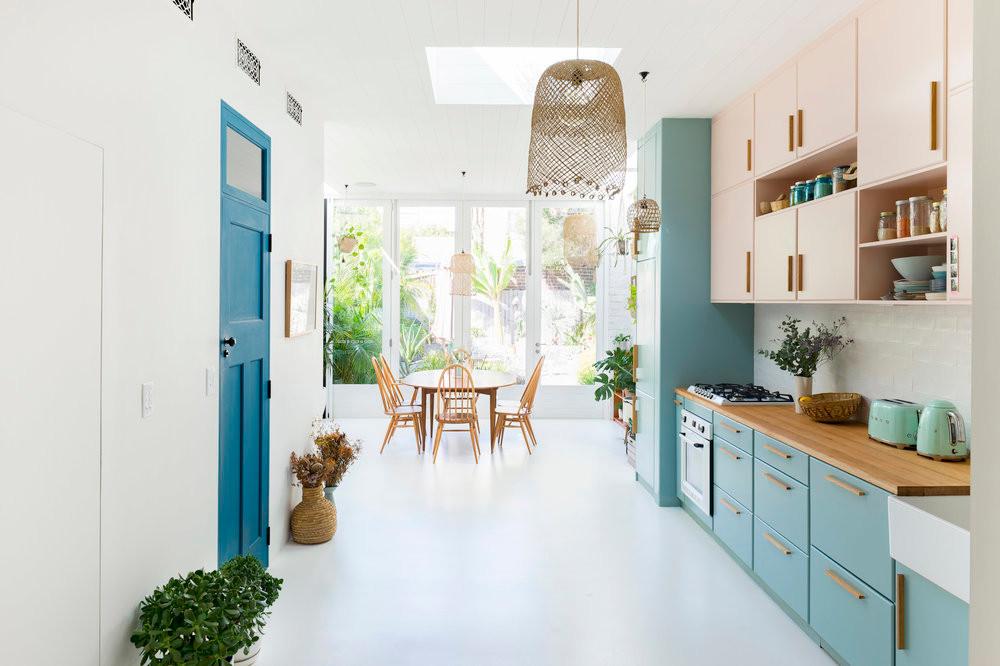 Newtown terrace House - interior design residential kitchen