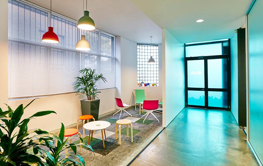 Blis Media - corporate office interior d
