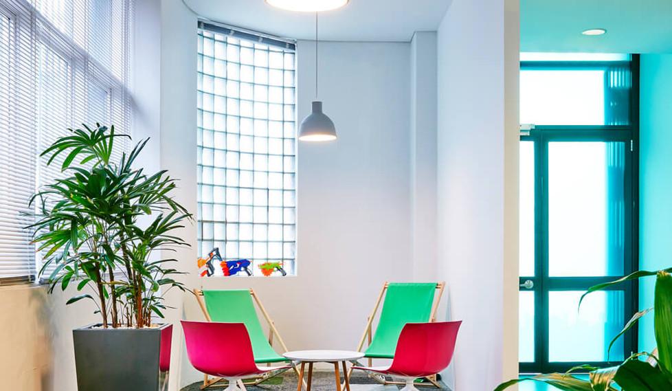 Blis Media - corporate design interiors.