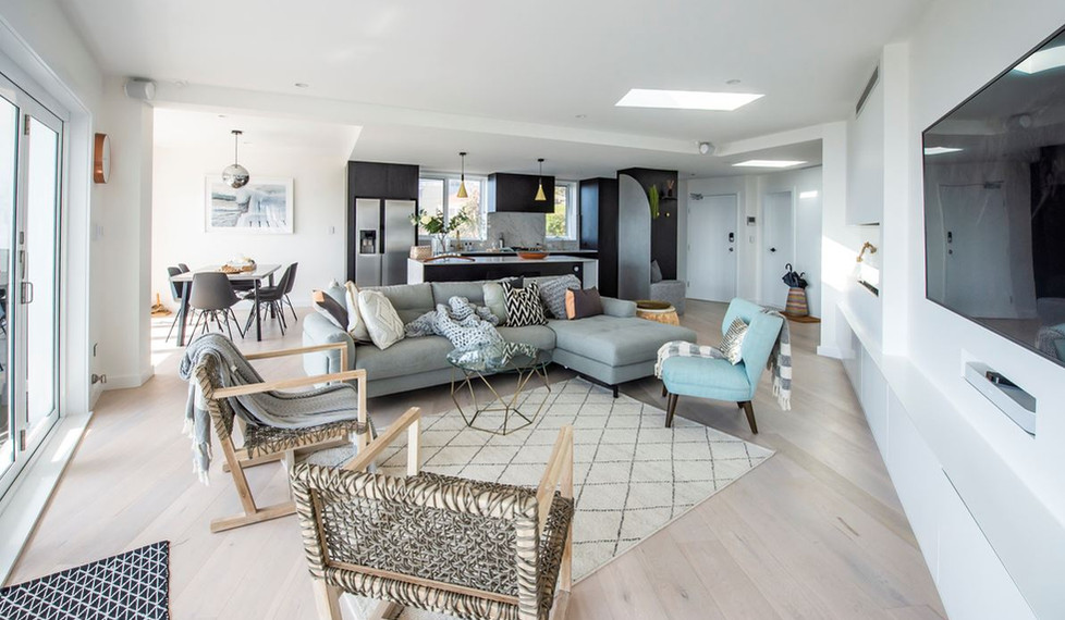 Bronte Seaside Apartment - Cradle residential apartment design - Lounge room
