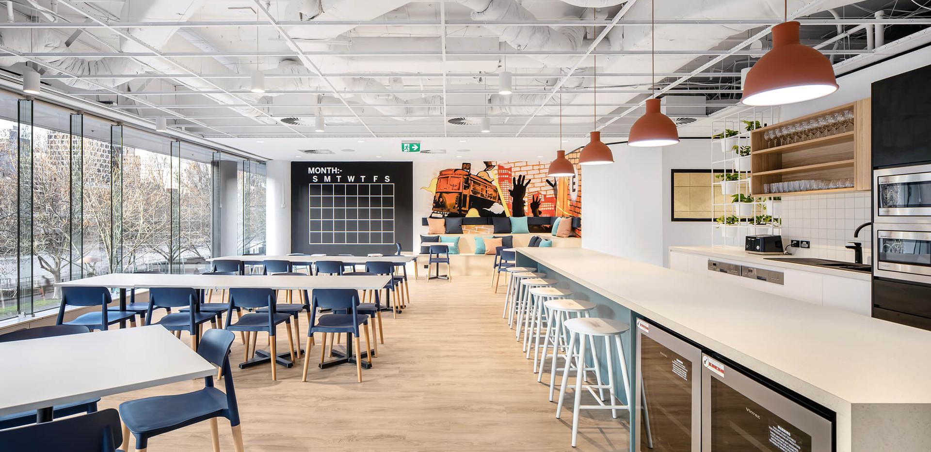 Eventbrite Melbourne - corporate kitchen design