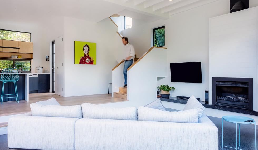 Boyle StreetBalgowlah - residential loungeroom design