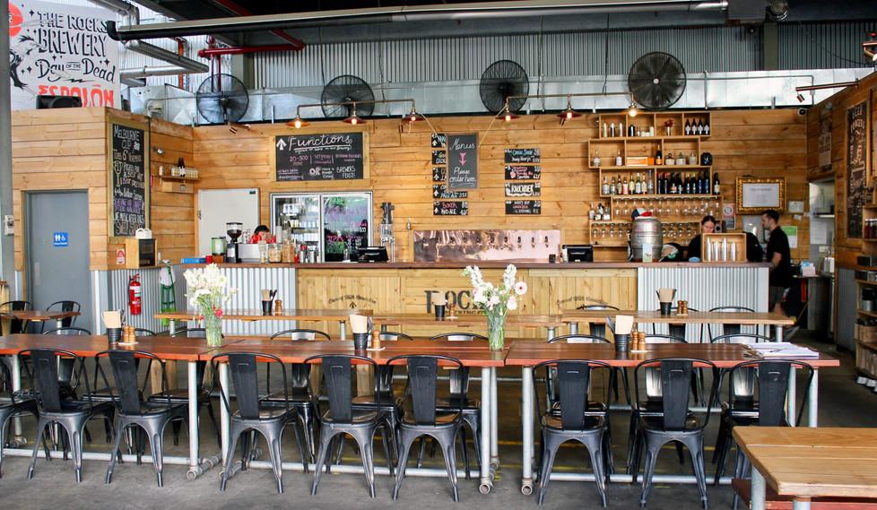 Rocks Brewing - Bar Layout Design