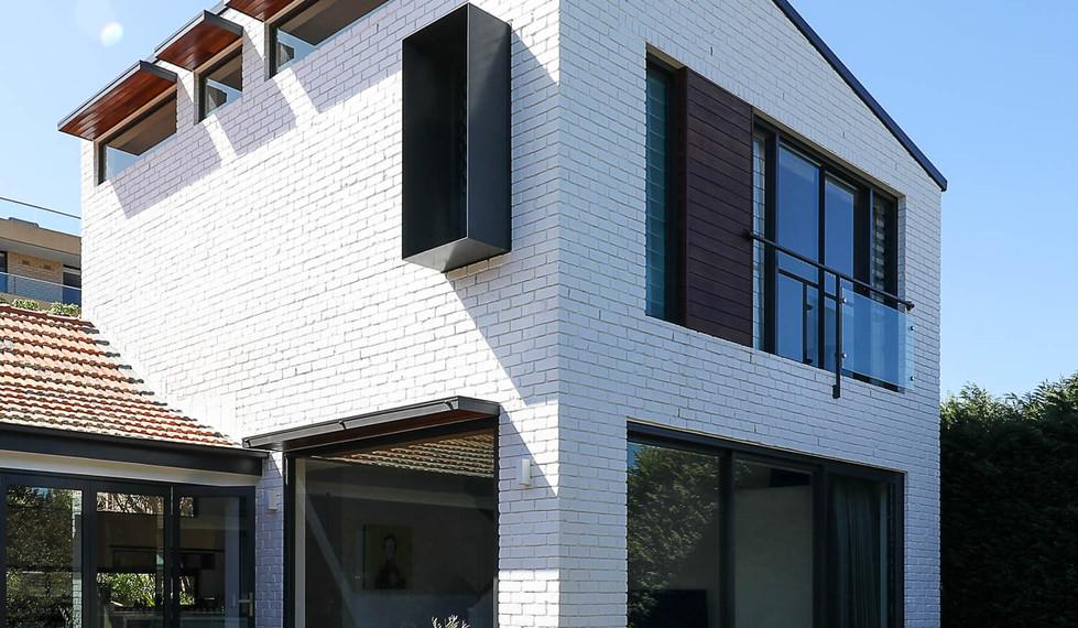 Boyle StreetBalgowlah - residential exterior design