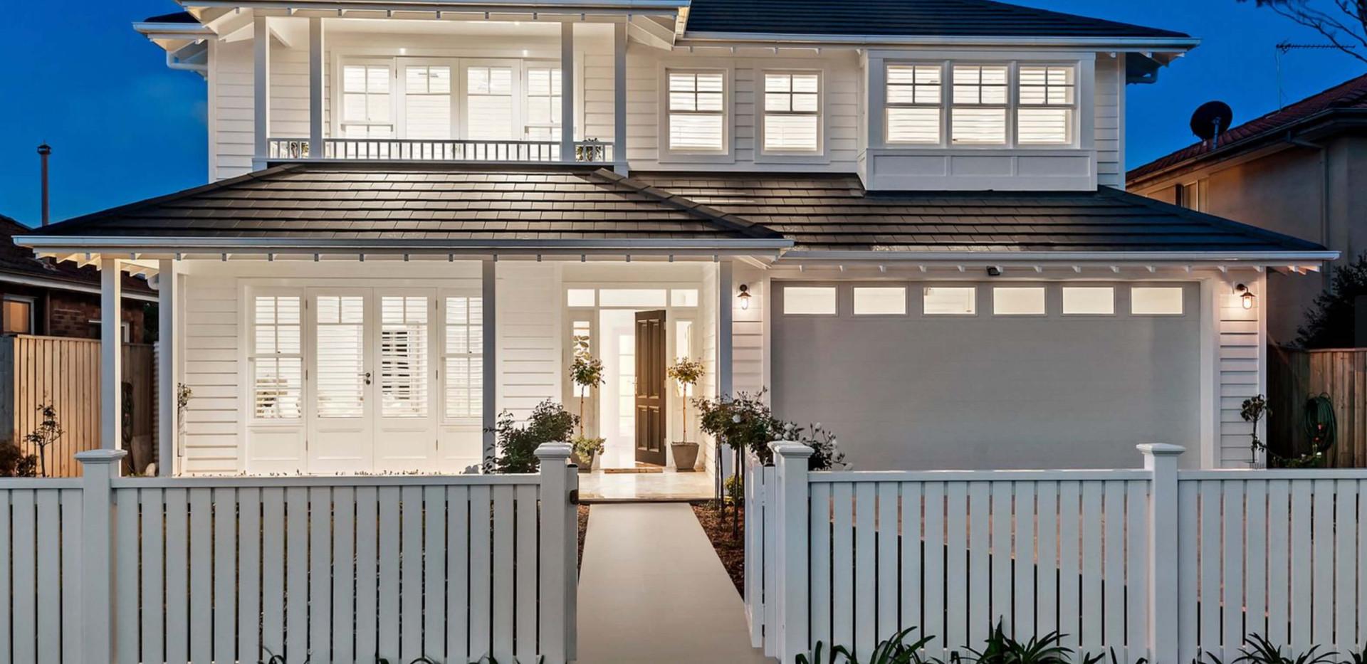 Seaforth Hamptons House - Residential exterior design