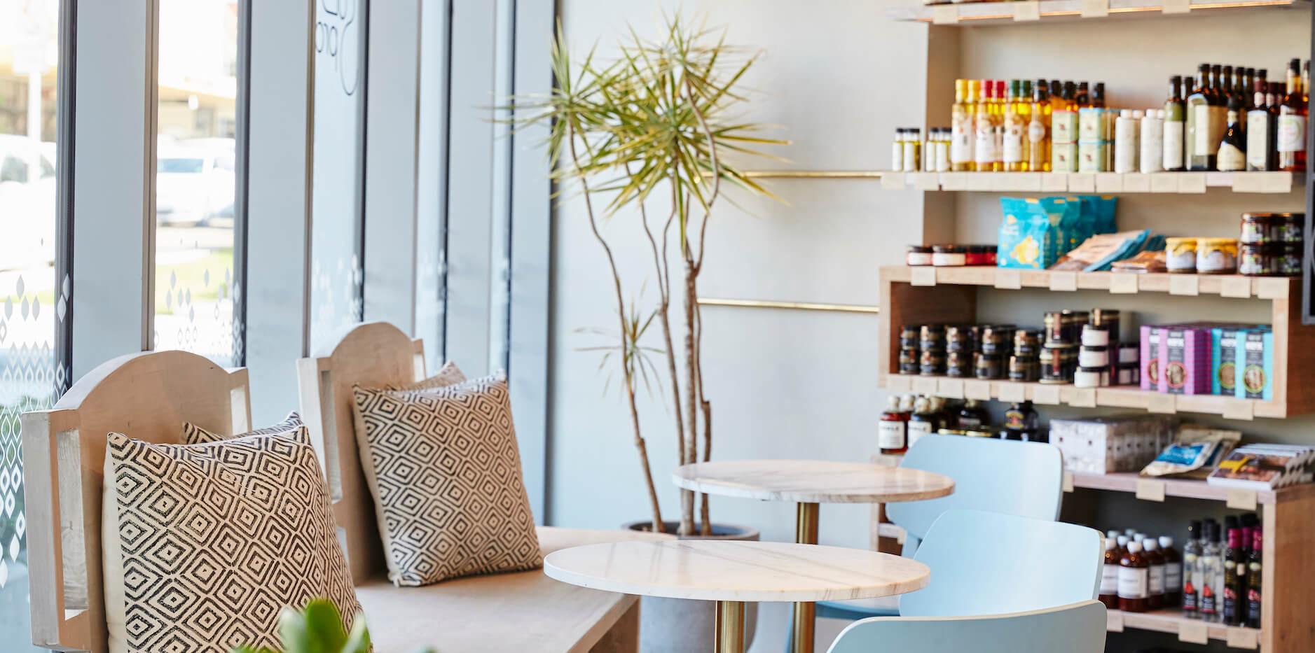SOL Providore - coffee shop bar design