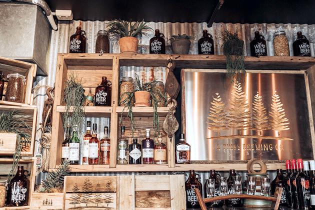 4Pines-Bar-Brisbane-bar-display