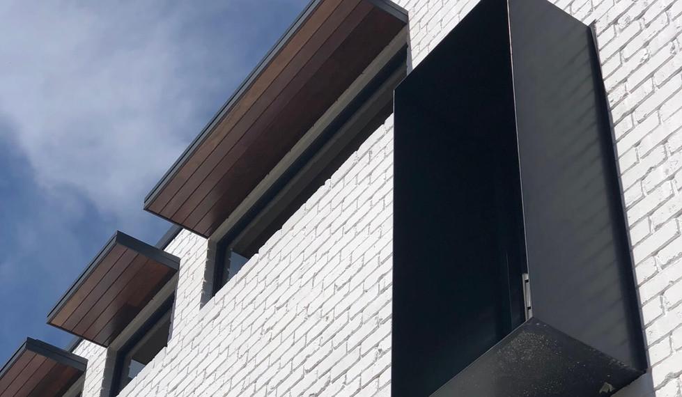 Boyle Street - Residential exterior design