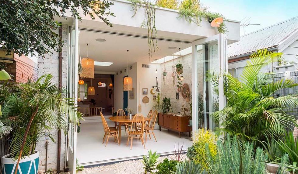 Newtown Terrace House - modern residential facade design
