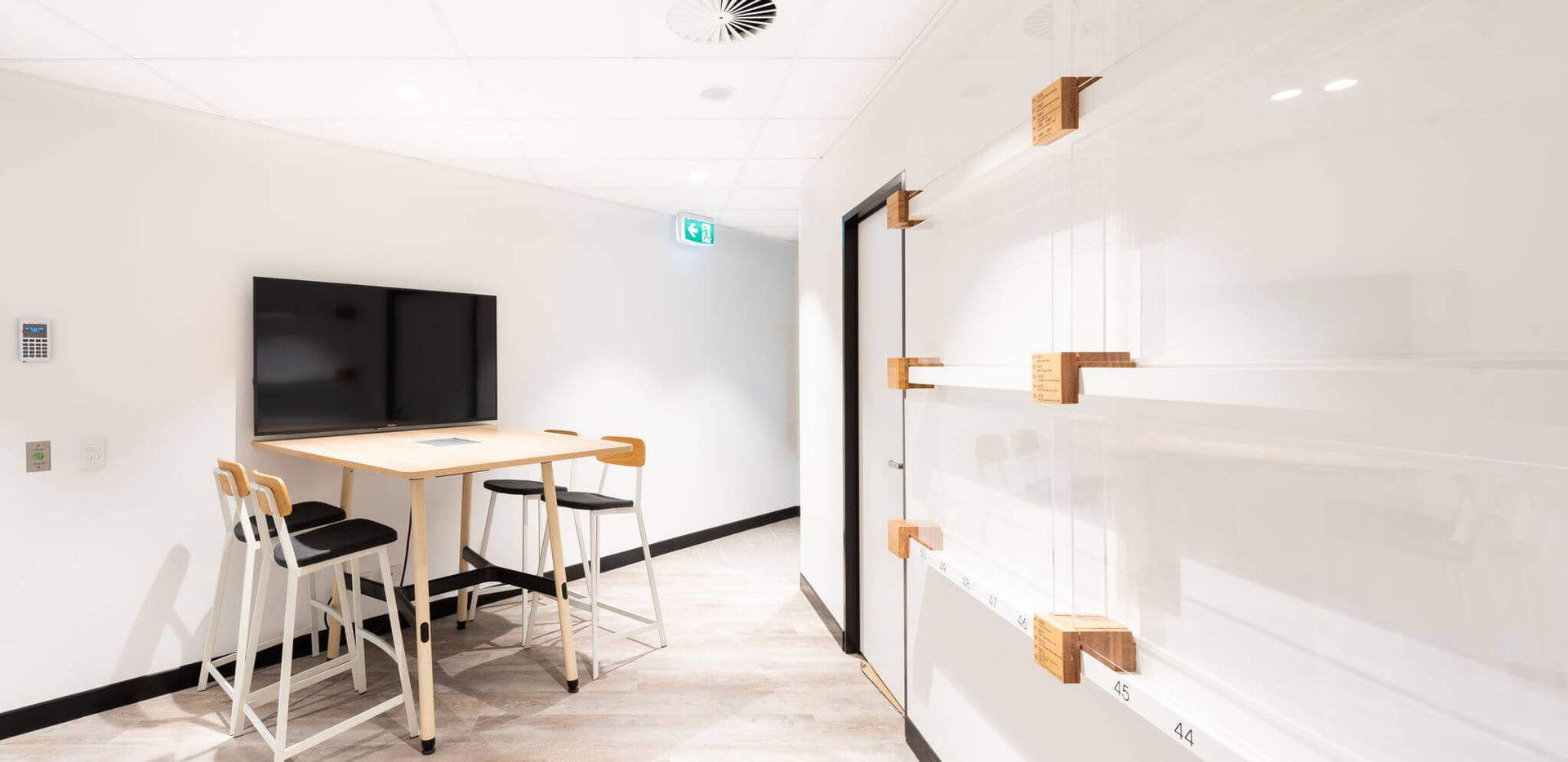 Lion and Little Creatures Fremantle - small corporate office design