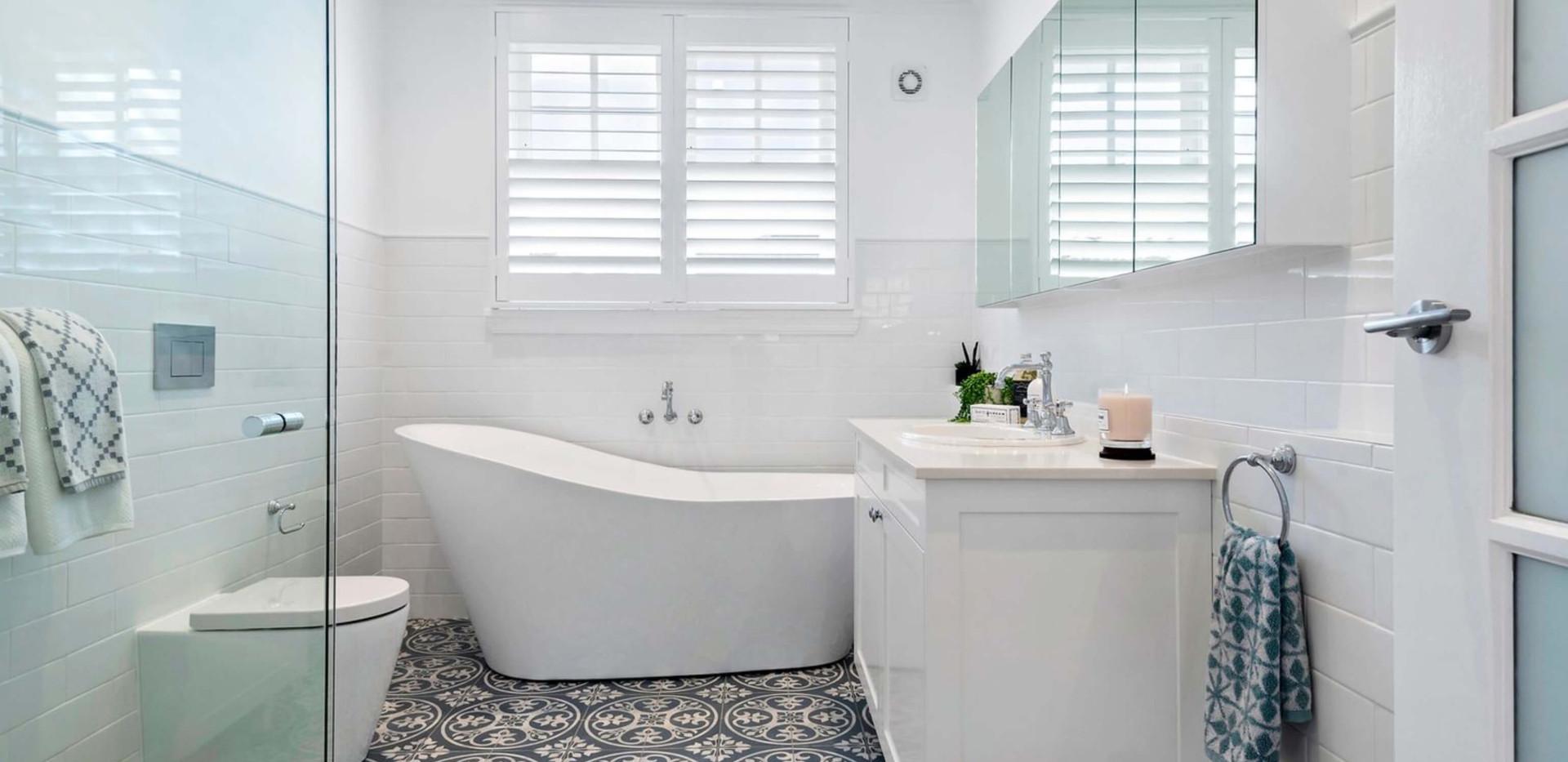 Seaforth Hamptons House - Residential bathroom interior design