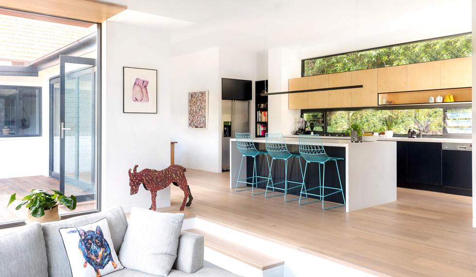 Boyle StreetBalgowlah - residential kitchen interior design