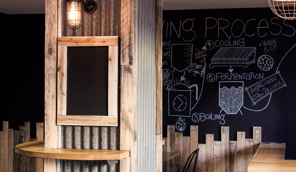 Four Pines Brewing Co SCG - custom bar design