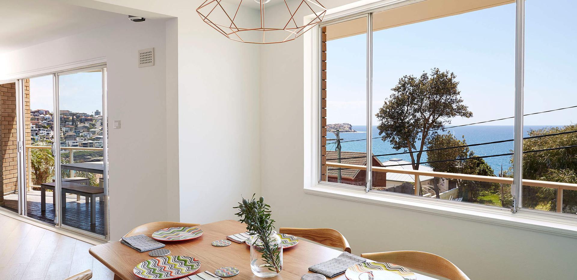 Bronte Seaside Apartment - Cradle residential apartment design - Dining room