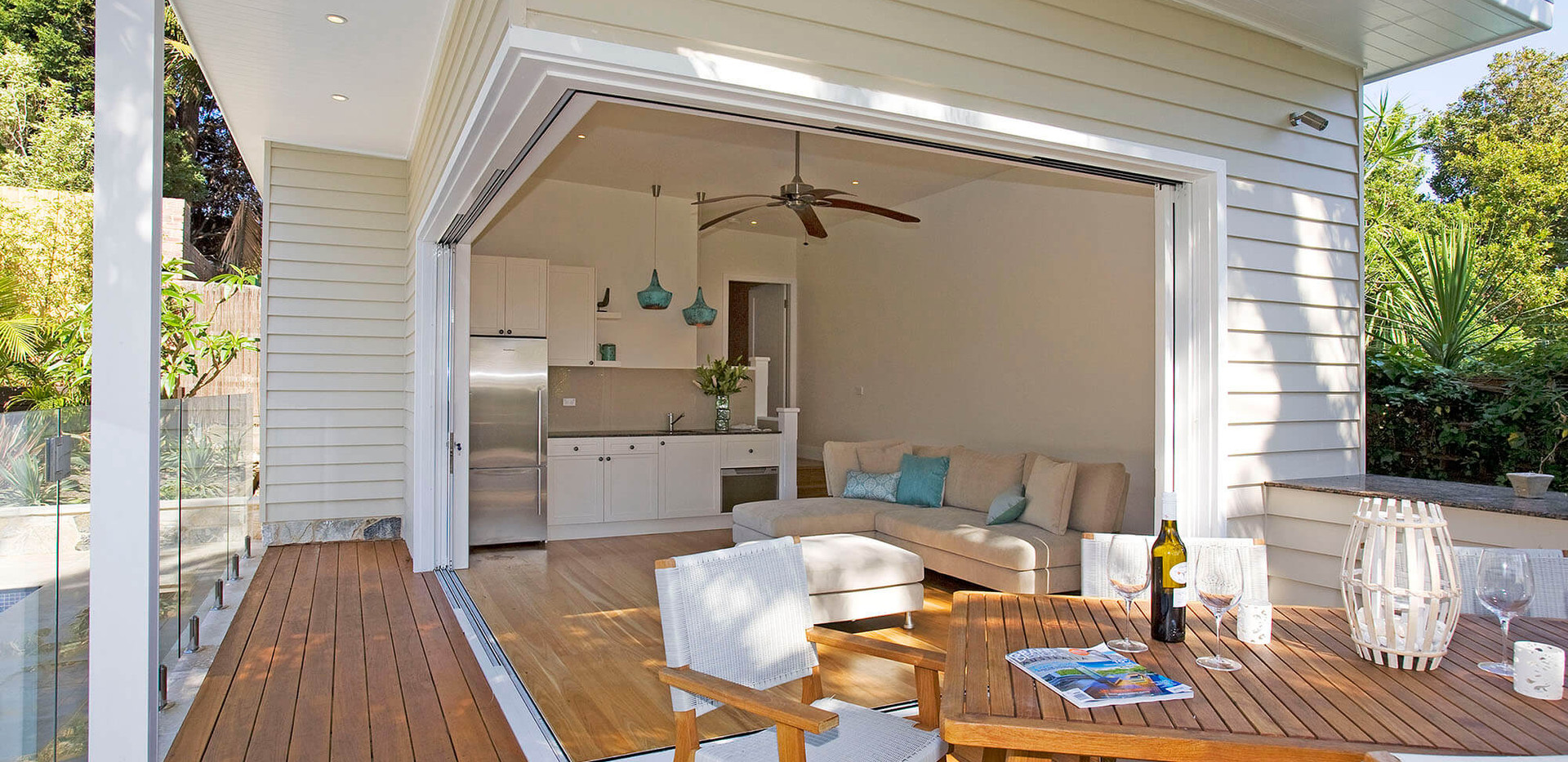 Balgowlah Heights Cabana and pool - high end residential interior design