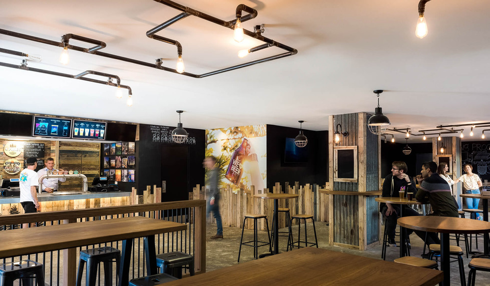 Four Pines Brewing Co. SCG - Bar layout design
