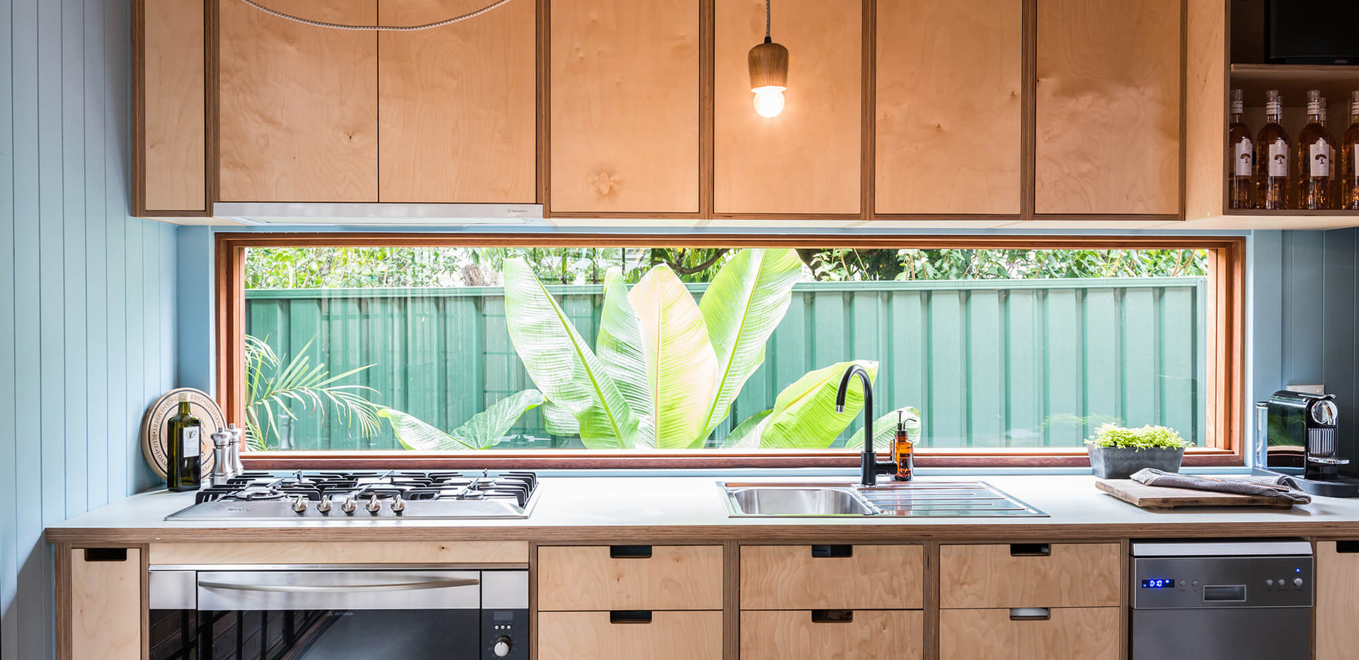 Tempe Garden Dwelling - interior design for residential house - Kitchen