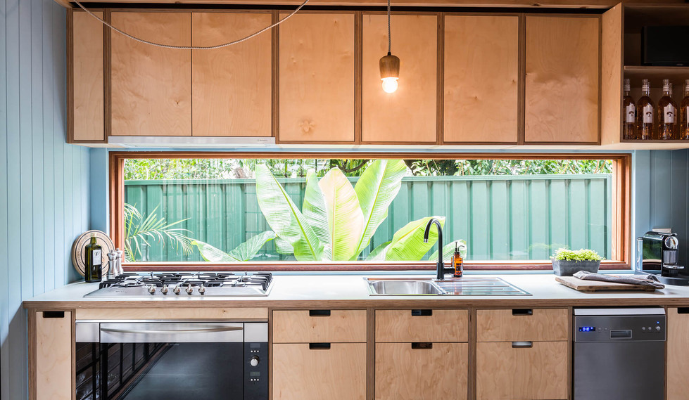 Tempe Garden Dwelling - interior design for residential house - Kitchen