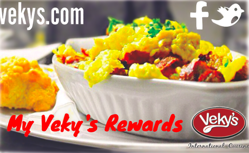 Sign Up for My Veky's Rewards