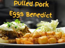 Pulled Pork Eggs Benny