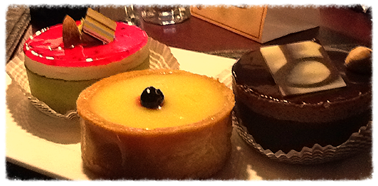 Ultimate in dessert selection