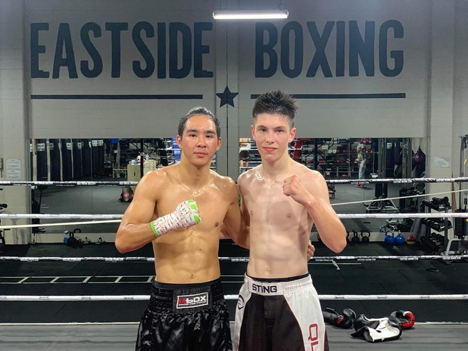 Amature boxers