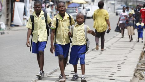 School day in Lagos: There are still 58 million children missing out on education