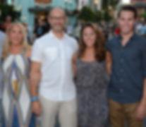 Jackie Azua Kramer and family