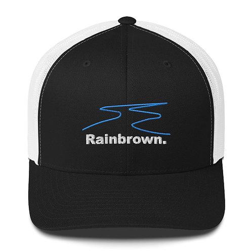 Rainbrown. Trucker Cap -  One Liner