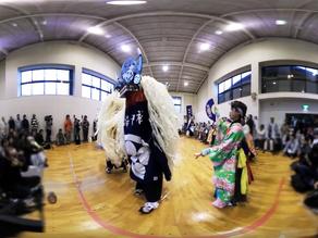 NTTドコモ社東北復興・新生支援プロジェクト「笑顔の架け橋・Rainbowプロジェクト」岩手県「鹿踊り」VR動画を制作